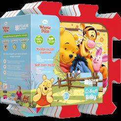 Covoras-Puzzle din spuma Trefl, Winnie the Pooh