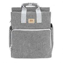 Rucsac/geanta mamici-organizator - BAONEO - Gri Jeans