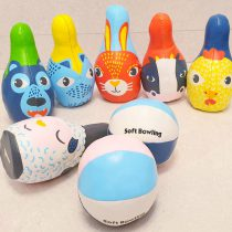 Set de Popice Soft cu Animalute