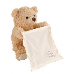 Ursulet din plus catifelat  Peek-A-Boo