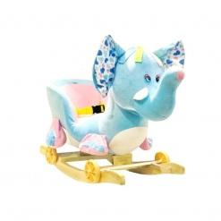 Balansoar Muzical pentru Copii - Elefantel Colorat